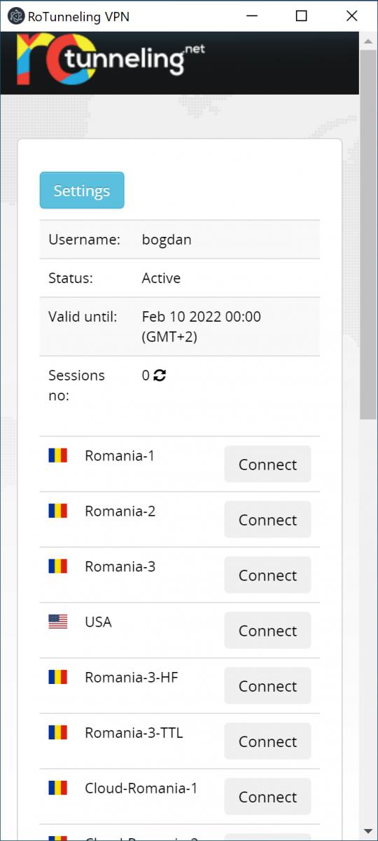RoTunneling VPN